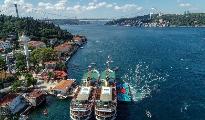 مضيق البوسفور في اسطنبول