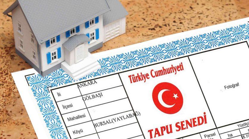 تكاليف الطابو في تركيا